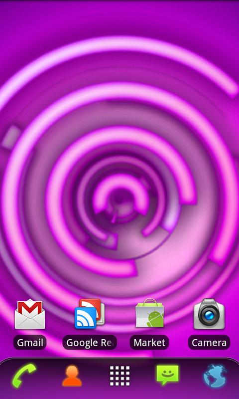 RLW Theme Purple Neon - screenshot