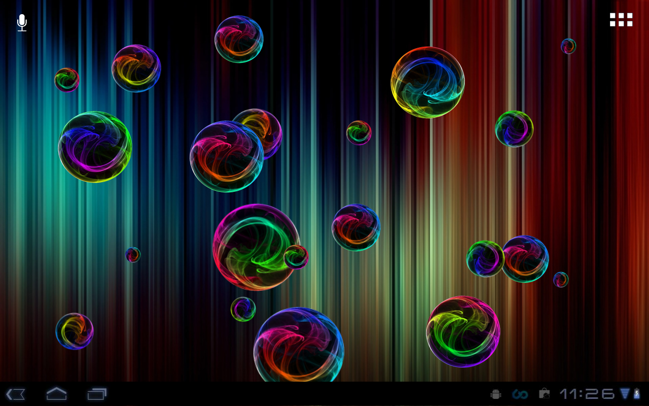 Deluxe Bubble Live Wallpaper - screenshot
