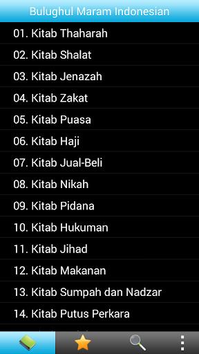 Bulugul Maram Indonesian