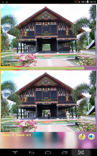 Find Difference Acehnese House