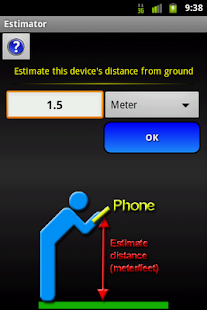 Distance Estimator- screenshot thumbnail
