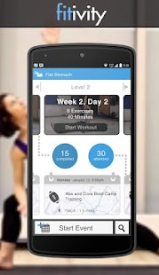 Flat Stomach Exercise Workouts - screenshot thumbnail