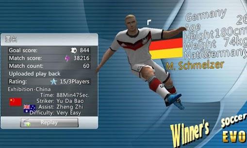 Winner Soccer Evolution MOD 1.7.8 (Unlocked) Apk 2