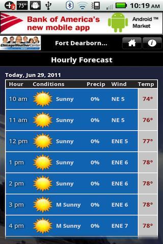 WGN Weather - screenshot