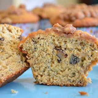 Oat Bran Banana Nut Muffins.