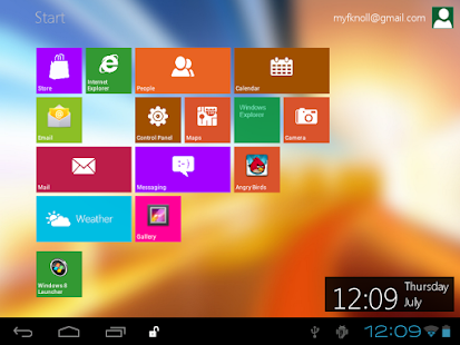 Windows 8 Metro Launcher Pro - screenshot thumbnail