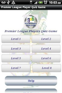 Premier League Players Quiz- screenshot thumbnail
