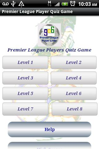 Premier League Players Quiz- screenshot