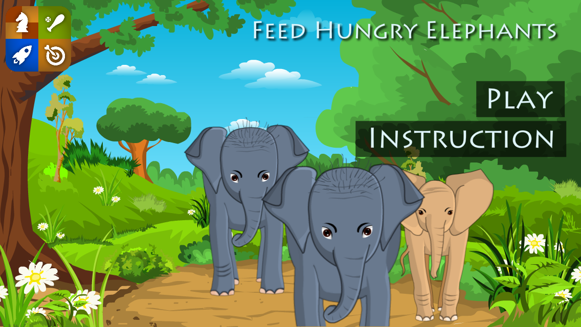 Feed Baby Elephants - screenshot