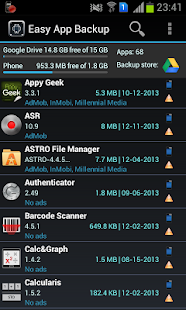 Easy App Backup & Restore - screenshot thumbnail