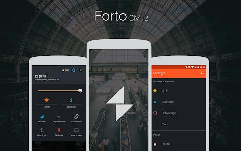 Forto - CM12 Theme v2.1