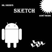 ADW Sketch Theme