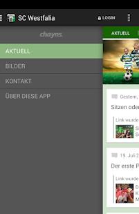SC Westfalia Kinderhaus - screenshot thumbnail