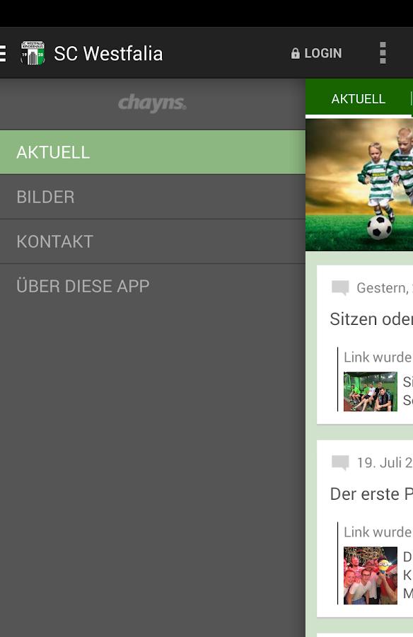 SC Westfalia Kinderhaus - screenshot