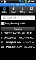 Screenshot of İzmir Ulaşım Rehberi