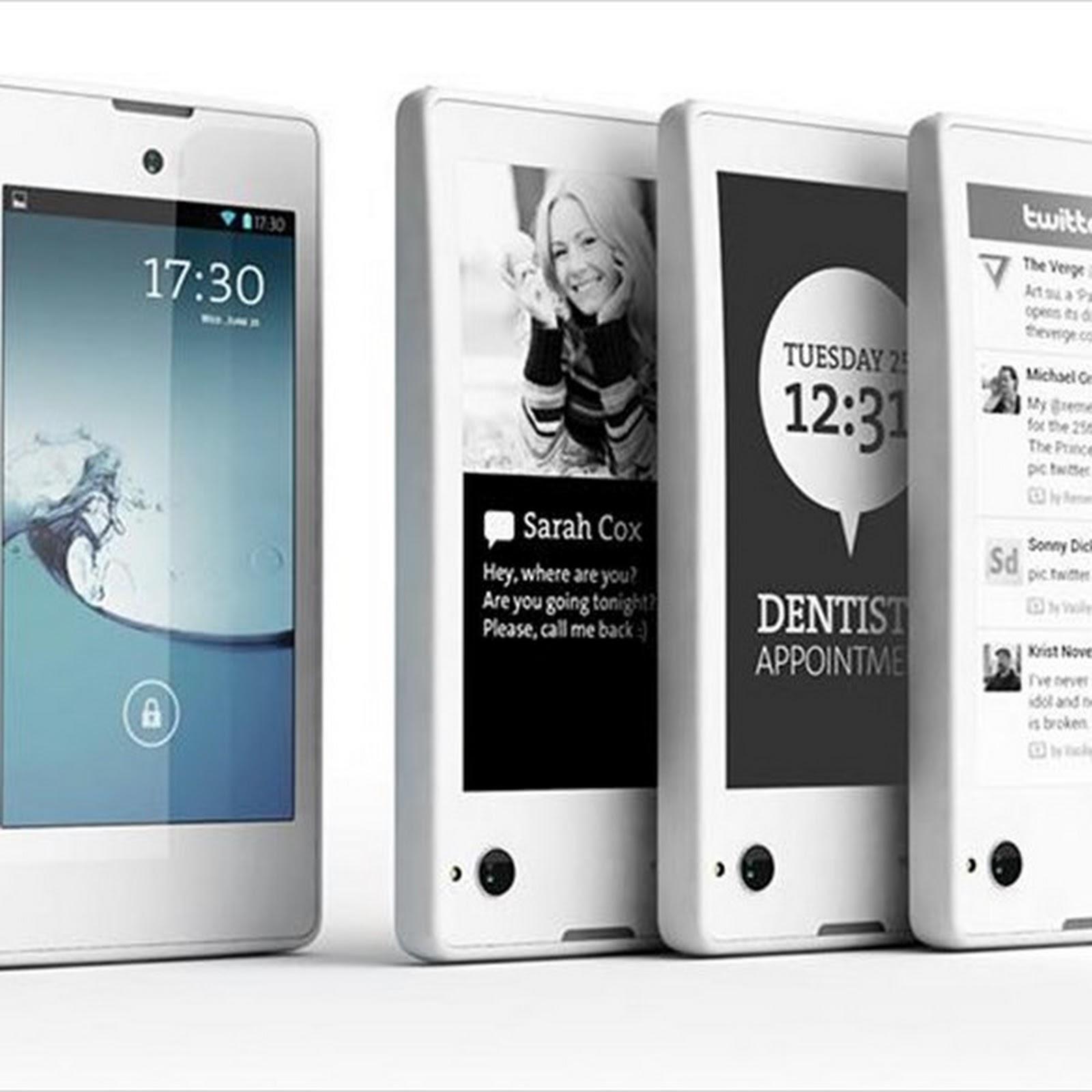 Desde las lejanas estepas rusas llega Yotaphone, un revolucionario smartphone que integra dos pantallas: una tradicional LCD y otra con tecnología E-Ink
