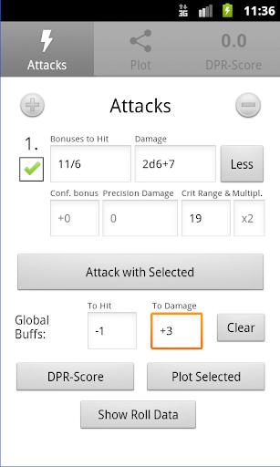 d20 Attack Calculator