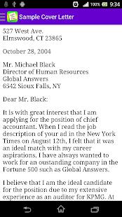 English Letter Writing Free - screenshot thumbnail