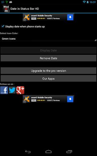 玩免費生產應用APP 下載在狀態欄HD日期 app不用錢 硬是要APP