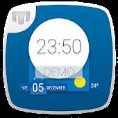 Material Clock Demo - UCCW