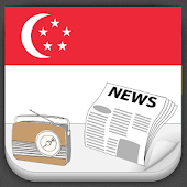 Singapore Radio and Newspaper