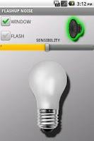 Screenshot of FLASHUP NOISE
