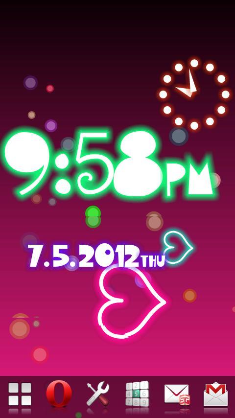 Neon Flow! Live Wallpaper- screenshot