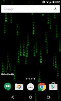 Screenshot of Hacker Live Wallpaper