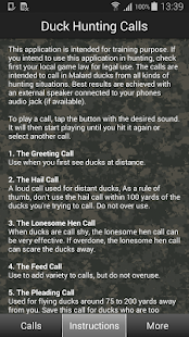 Duck Hunting Calls- screenshot thumbnail