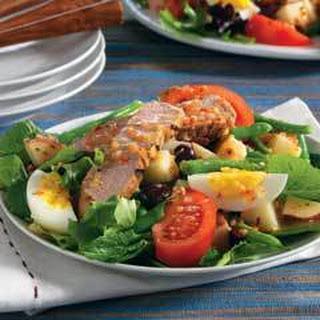 Tuna Nicoise Salad.