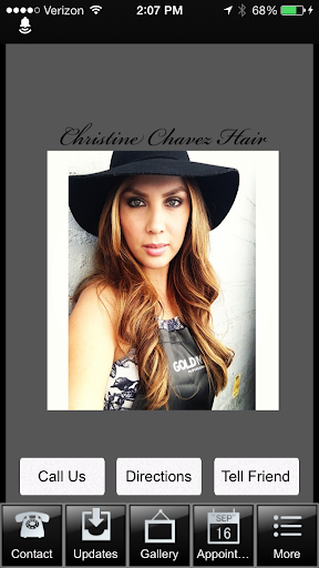 Christine Chavez Hair
