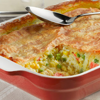 Chicken and Rice Pot Pie
