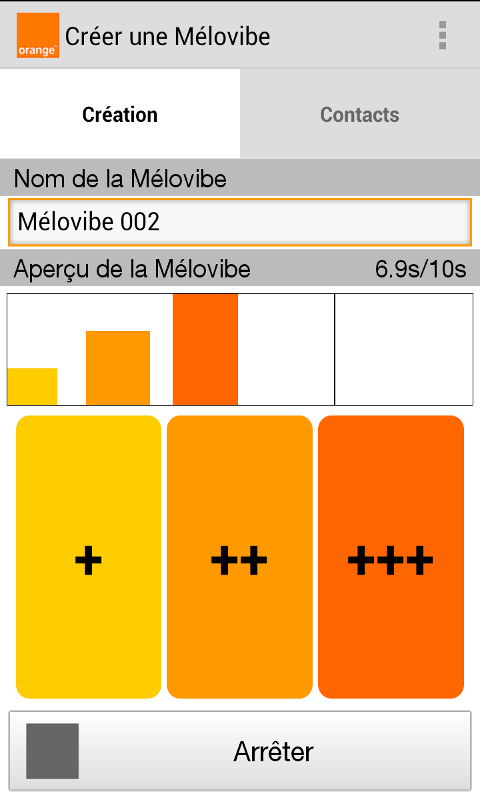 Mélovibe - screenshot