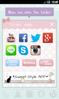 Screenshot of Cute&Girly folder *girls* free