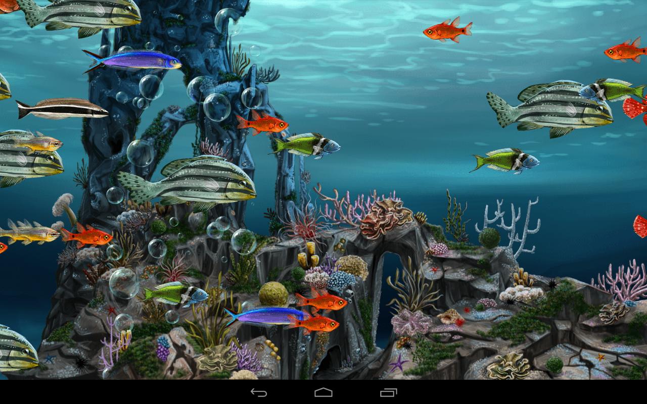 Google underwater theme - Underwater World 3d Screenshot