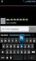 Screenshot of Ice Cream Sandwich CM7 Theme