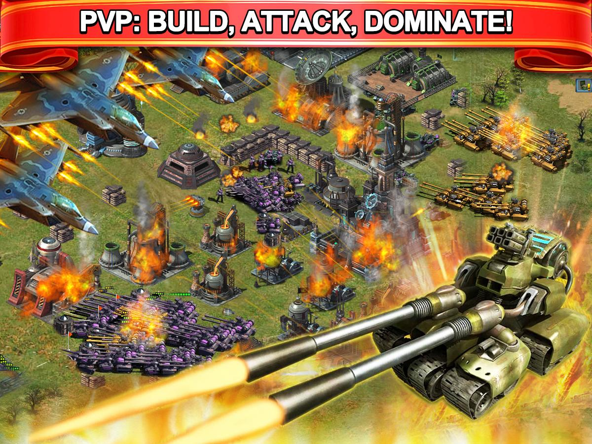 Grand Battle--MMO Strategy:War- screenshot
