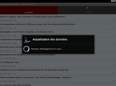 High Tech Actualités screenshot 1