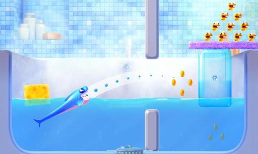 لعبة جديدة من جيم لوفت سمك القرش داش  Shark Dash v1.0.5 نسخة مكركة