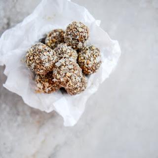 No Bake Almond Joy Snack Bites.