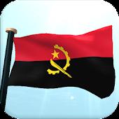 Angola Flag 3D Free Wallpaper