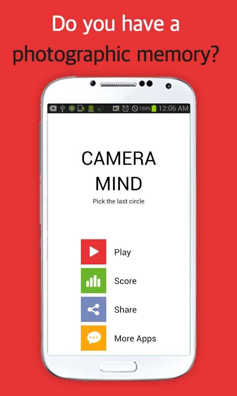 CAMERA MIND (Memory Test) - screenshot
