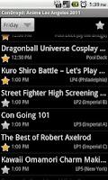 Screenshot of ConDroyd for Kraken Con