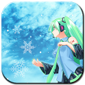 Snow Miku Live Wallpaper icon