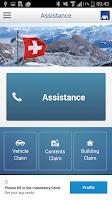 Screenshot of AXA Assistance