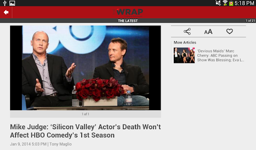 TheWrap.com- screenshot thumbnail