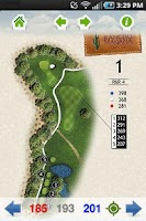 Screenshot of Rancho Mañana Golf Club