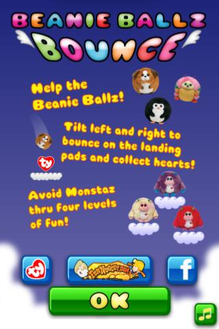 Beanie Ballz Bounce- screenshot