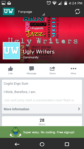 玩教育App|Ugly Writers Go免費|APP試玩