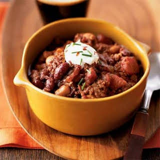 Chipotle Beef Chili.